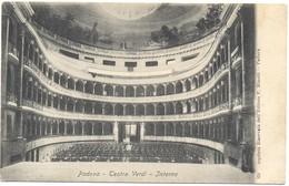 ITALIA - ITALY - ITALIE - Padova - Teatro Verdi - Interno - Not Used - Padova (Padua)