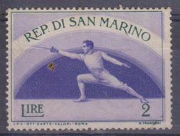 San Marino - Schermitore - Scherma