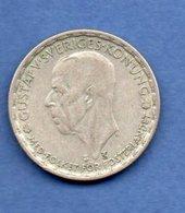 Suède  -  1 Krona  1949  -  Km # 814 -  état  TTB - Sweden