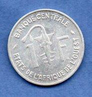 Afrique De L Ouest  -  1 Franc 1967 -  Km # 3.1 -  état  SUP - Colonies