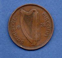Irlande   -   1 Penny 1928 -  Km # 3   -  état  TB+ - Irlande