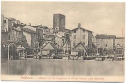 ITALIA - ITALY - ITALIE - Padova - I Molini Sul Bacchiglione Al Ponte Molino (ora Demoliti) - Not Used - Padova