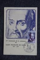 THORENS GLIERES - IV ème Centenaire De La Naissance De ST François De SALES - Thorens-Glières