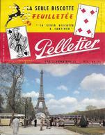 BISCOTTES PELLETIER - Double Format, (cartes à Découper) En Excellent état - Other