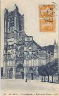 Auxerre - La Cathedrale - Eglise Saint Etienne - Auxerre