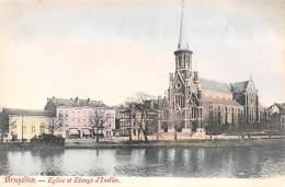 BRUXELLES - Eglise Et Etangs D'Ixelles - Ixelles - Elsene
