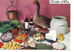 LE CONFIT D'OIE /recette N° 187 Par E. Bernard / CPM LYNA NEUVE / TBE - Recettes (cuisine)