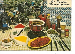 La FONDUE BOURGUIGNONNE / Recette N° 114 Par E. BERNARD / CPM LYNA VIERGE / TTBE - Recettes (cuisine)