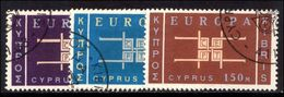Cyprus 1963 (Nov) Europa Fine Used. - Used Stamps