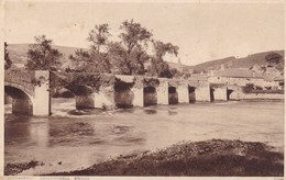 Postcard Abergavenny Crickhowell Bridge My Ref  B12110 - Monmouthshire