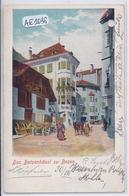 BOLZANO-BOZEN- DAS BATZENHAUSL ZU BOZEN- RARE LITHO- TROU ARCHIVAGE- 3 SCANS - Bolzano (Bozen)
