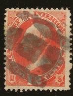 USA 1873 12c Vermilion Official SG O199 U #AKH115 - Service