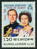 Bangladesh : Visit Of Queen (Overprint) 1v MNH 1983 - Bangladesh