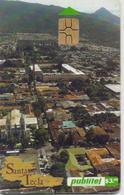EL SALVADOR PHONECARD(CHIP) SANTA TECLA 3$- 2001-USED(bx1) - El Salvador