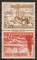 Deutsches Reich MiNr. Zd SK 31 ** Winterhilfswerk 1937, Schiffe - Deutschland