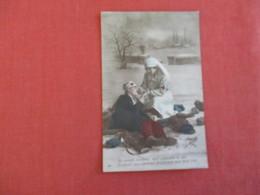 > Red Cross    Vas Parents Confiants   Has France Stamp & Cancel---------ref 2950 - Red Cross