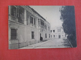 Tunisia   Kairouan La Splendid Hotel Ink Stain Back Used As Blotter----ref 2950 - Tunisia