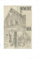 """Altenberg ( Moresnet )  DerBefehlshaber Der Amerikanische Truppen """" Entwender - Oder """" ( Format 20 / 14 Cm ) - Historische Dokumente"""