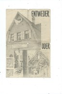"Altenberg ( Moresnet )  DerBefehlshaber Der Amerikanische Truppen "" Entwender - Oder "" ( Format 20 / 14 Cm ) - Historical Documents"