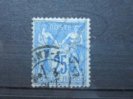 VEND BEAU TIMBRE DE FRANCE N° 78IIA !!! - 1876-1898 Sage (Tipo II)