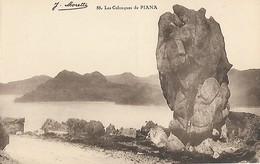 CARTE POSTALE ORIGINALE ANCIENNE : PIANA  LES CALANQUES CORSE DU SUD (20) (2A) - Sonstige Gemeinden