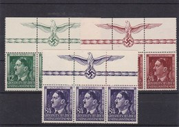 Generalgouvernement (GG)  AH, Geburtstag 1944, **, Oberrand HHZ - Occupation 1938-45