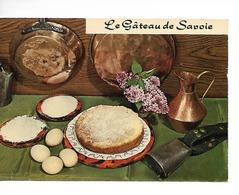 Le GATEAU DE SAVOIE Recette N° 70 Par Emilie BERNARD  / CPM LYNA écrite Non Daté (1990/95) /bords Fatigués !! - Recettes (cuisine)