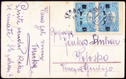 SLOVENIA - JUGOSLAVIA - RAILEAY Postmark  BROD - LJUBLJA  70 - 1922 - Slovenia