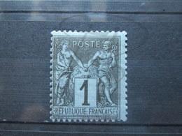 VEND BEAU TIMBRE DE FRANCE N° 83 , X !!! - 1876-1898 Sage (Type II)