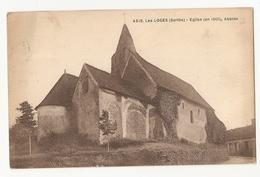 72 Les Loges, église, Abside (2421) - France