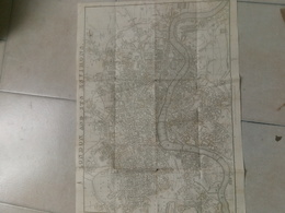 Carte De Londres 19e - Cartes Géographiques