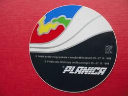 SKI JUMPING.FIS PLANICA.Nalepka-sticker/label - Winter Sports