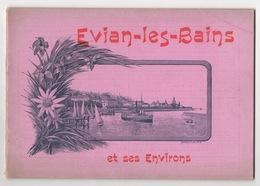 BROCHURE Sur Evian Les Bains D'une Quinzaine De Pages - Alpes - Pays-de-Savoie