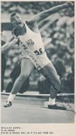 ATHLETISME : PHOTO, DALLAS LONG (ETATS-UNIS), LANCEMEMENT DU POIDS, COUPURE REVUE (1960) - Athletics