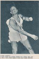 ATHLETISME : PHOTO, PARRY O'BRIEN (ETATS-UNIS), LANCEMEMENT DU POIDS, COUPURE REVUE (1960) - Athlétisme