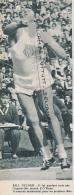 ATHLETISME : PHOTO, BILL NIEDER (ETATS-UNIS), LANCEMEMENT DU POIDS, COUPURE REVUE (1960) - Athletics