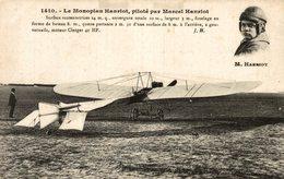 LE MONOPLAN HANRIOT PILOTE PAR MARCEL HANRIOT - ....-1914: Precursors