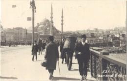 Turkey - Contantinople, Stamboul Bridge, No531, Busy Scence - Turkey