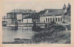 18 / 5 / 132  -  SARREBOURG  ( 57 )  -  QUAI  DE  LA  SARRE - Sarrebourg