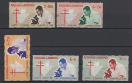 Royaume Du Burundi 1965. 118/122 *. Cote COB 2018 : 1,75 € - 1962-69: Neufs