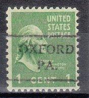 USA Precancel Vorausentwertung Preo, Locals Pennsylvania, Oxford 716 - Vereinigte Staaten