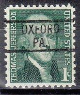 USA Precancel Vorausentwertung Preo, Locals Pennsylvania, Oxford 819 - Etats-Unis