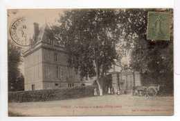 - CPA AVENY (Dampsmesnil / 27) - Le Château Et La Grille 1920 (avec Personnages) - Photo-Edition A. Lavergne - - Other Municipalities