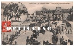 54  Lunéville  L'Inauguration Du Monument Ribierre - Luneville