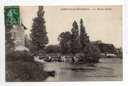 - CPA CORNEVILLE-SUR-RISLE (27) - Le Moulin Babolin 1908 - Collection Hauchard - - Other Municipalities