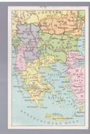 Balkan Balcan Landkarte MAP (2) Ca 1920, 2 Scans - Rumania