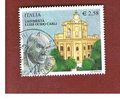 ITALIA REPUBBLICA  -  2003    UNIVERSITA' LUISS G. CARLI  - USATO ° - 1946-.. République