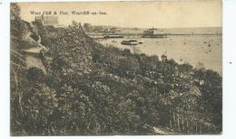 Essex Postcard Westcliff-on-sea Pier. Posteddowney Head 1913. - Southend, Westcliff & Leigh