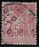 SAGE  N°  104  Oblitéré - Cote : 38 € - 1898-1900 Sage (Type III)