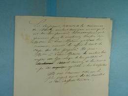 Don Du Droit De Chasse Au Prince Alphonse De Chimay Par Les Habitants De Vaulx - Manuscrits